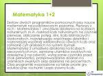 matematyka 1 2