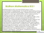 wolfram mathematica 8 0 1