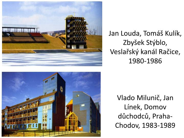 Jan Louda, Tomáš Kulík, Zbyšek Stýblo, Veslařský kanál Račice, 1980-1986