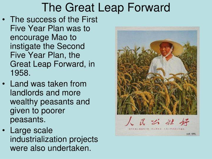 second five year plan in 1958 by mao zedong essay