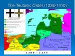 the teutonic order 1226 1410