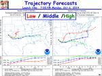 trajectory forecasts launch time 7 00 pm monday oct 6 2014