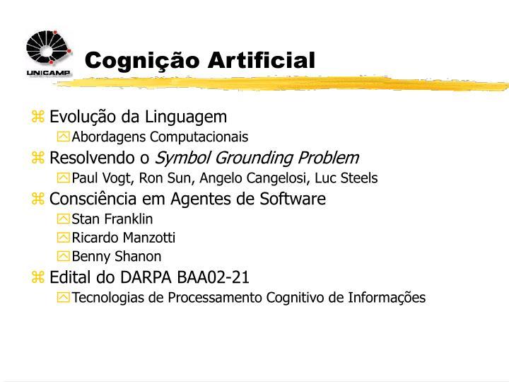 Cognição Artificial