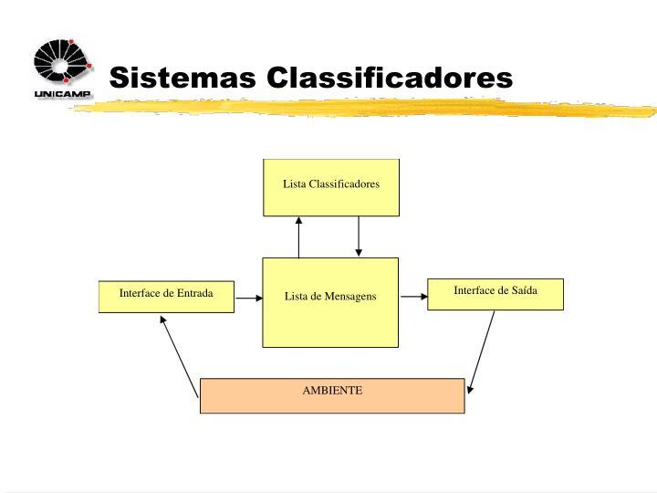 Sistemas Classificadores