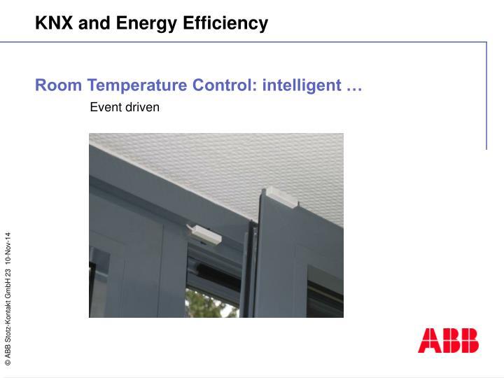 Room Temperature Control: intelligent …