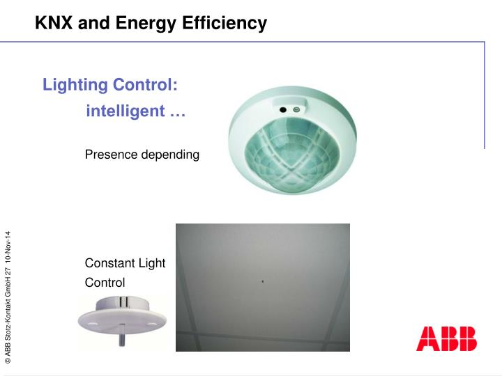 Lighting Control: