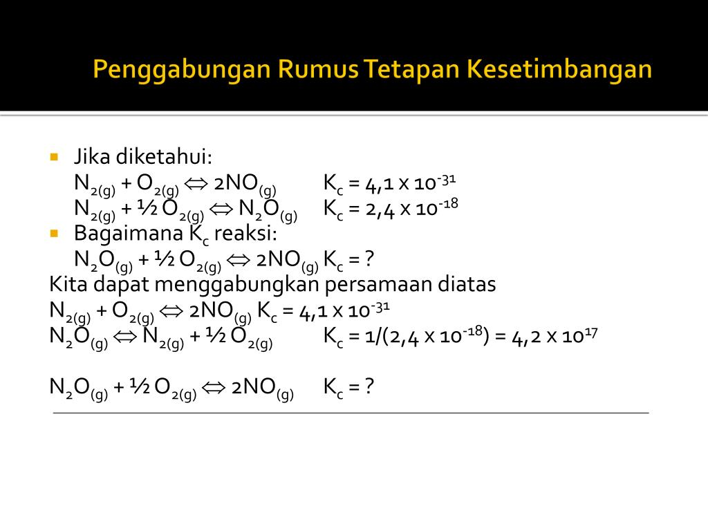 Ppt Equilibrium The Extent Of Chemical Reactions Powerpoint Presentation Id 6442101