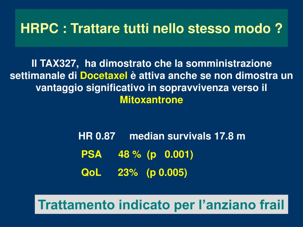 tumore della prostata e psa power point 3