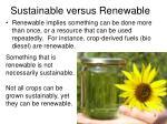 sustainable versus renewable1