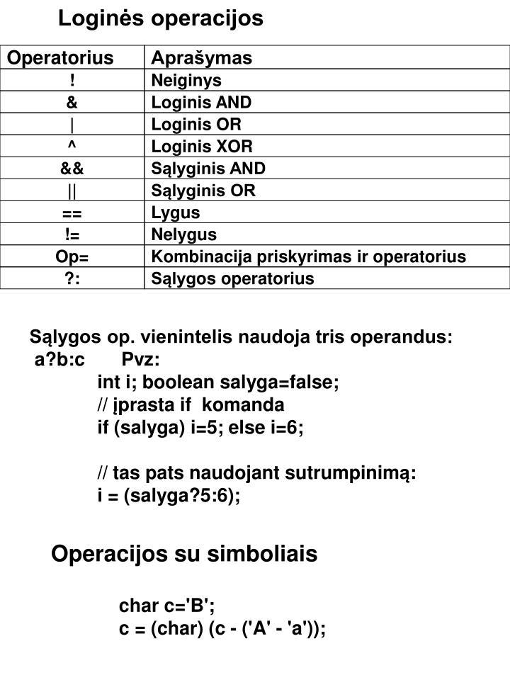 Operatorius