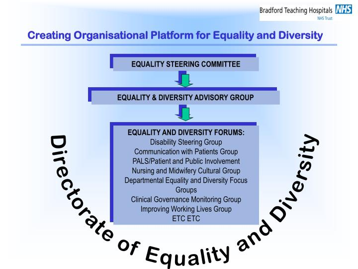 EQUALITY & DIVERSITY ADVISORY GROUP