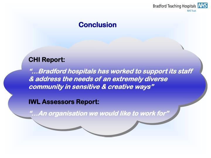 CHI Report: