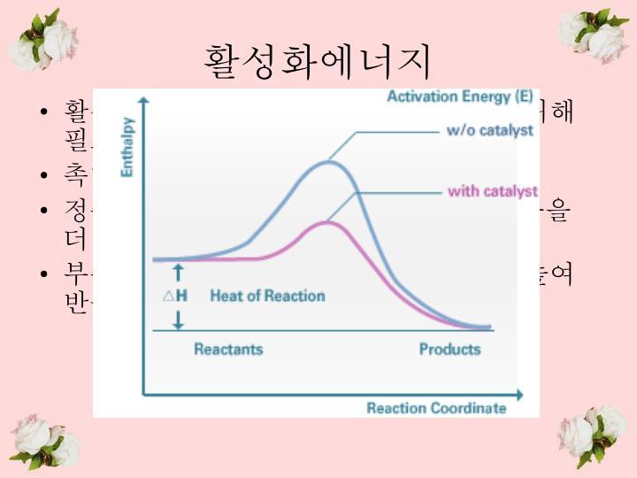 활성화에너지