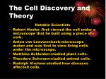 the cell discovery and theory1