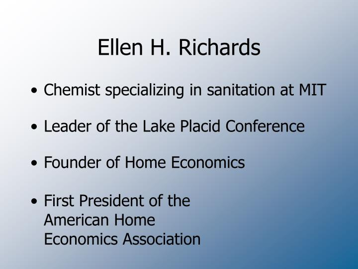 Ellen H. Richards