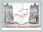 tensions between nations