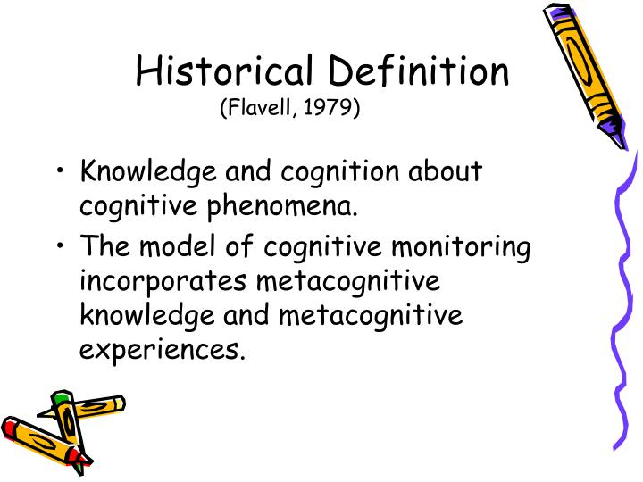 metacognitive knowledge definition