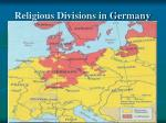 religious divisions in germany