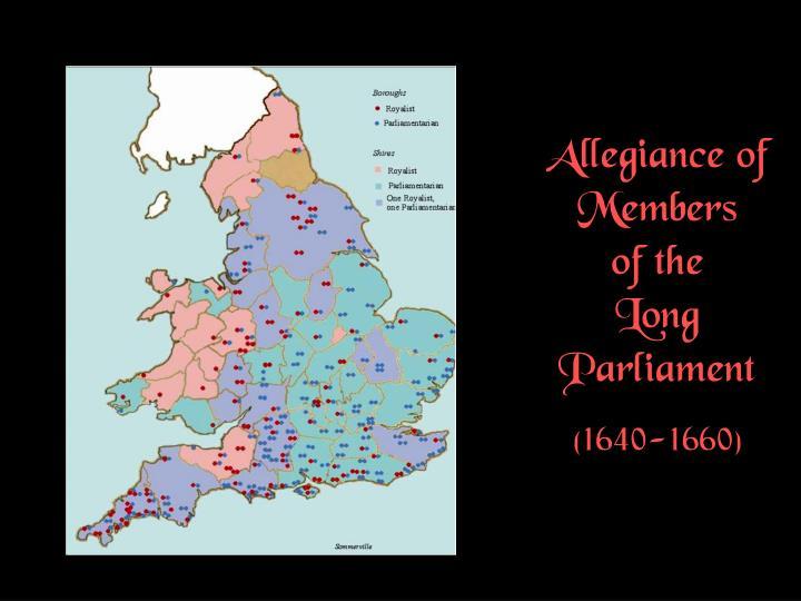 Allegiance of Members