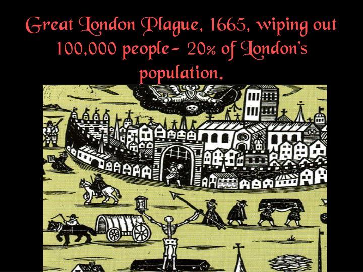Great London Plague,