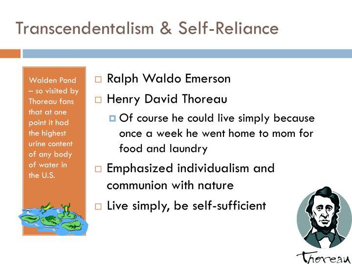 Transcendentalism & Self-Reliance