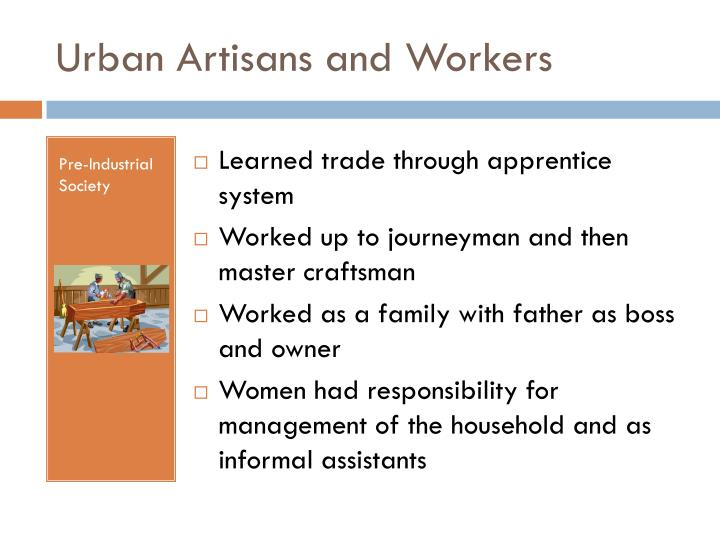 Urban artisans and workers