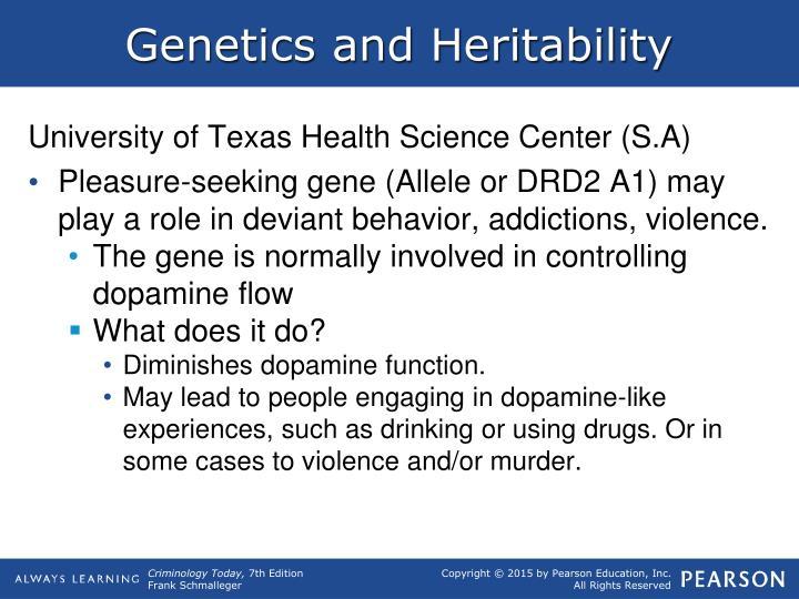 Genetics and Heritability