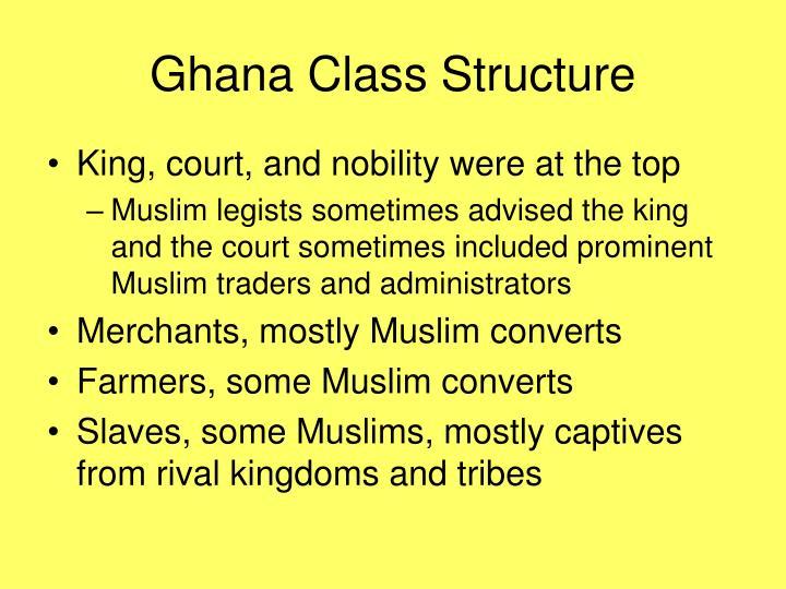 Ghana Class Structure