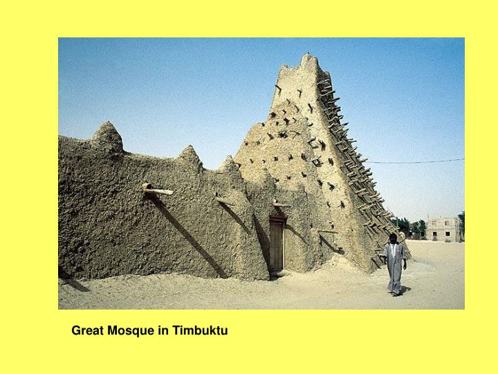 Great Mosque in Timbuktu