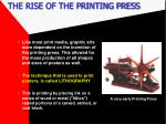 the rise of the printing press1