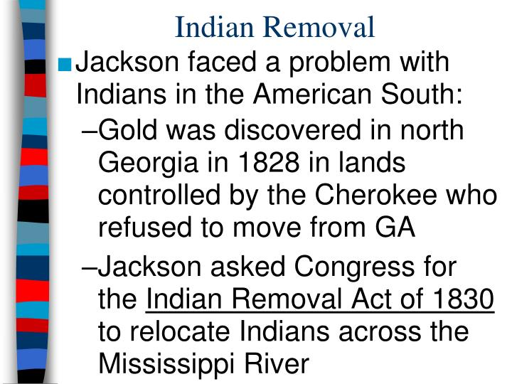 Indian Removal