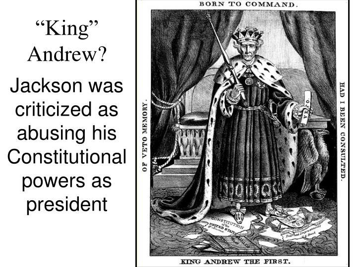 """King"" Andrew?"