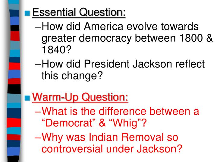 Essential Question: