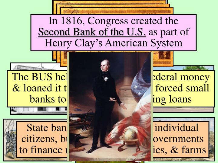 In 1816, Congress created the