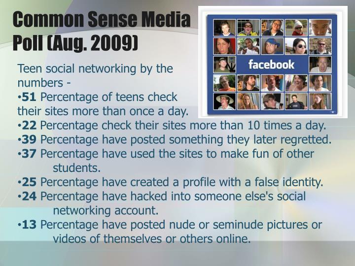 Common Sense Media                                           Poll (Aug. 2009)
