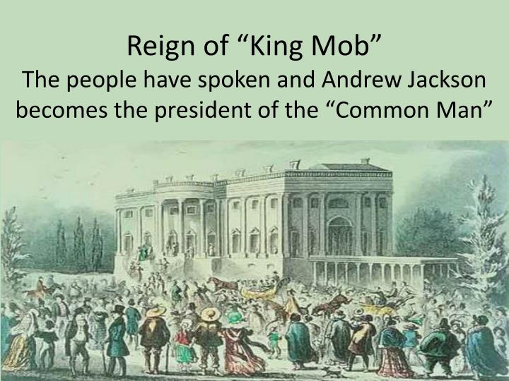 """Reign of """"King Mob"""""""
