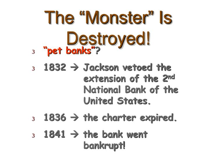 """The """"Monster"""" Is Destroyed!"""