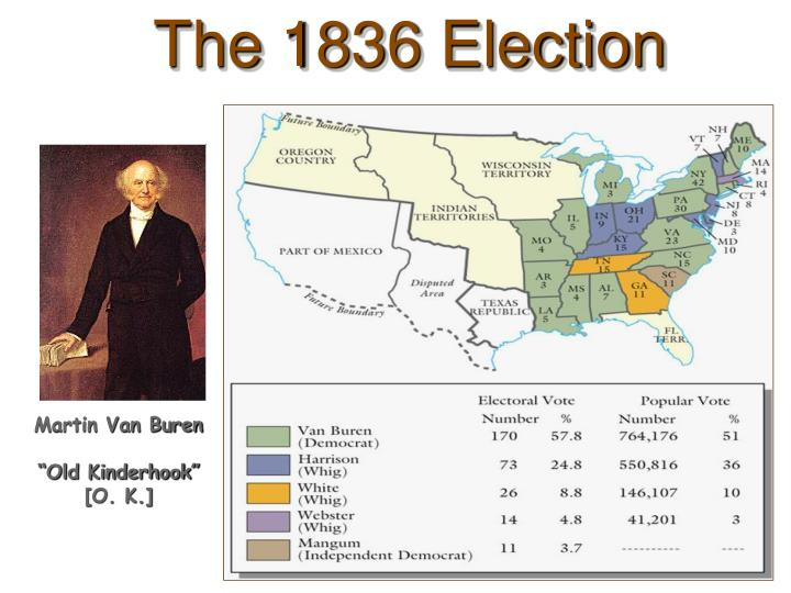 The 1836 Election