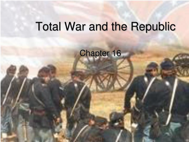 total war and the republic n.