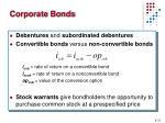 corporate bonds1