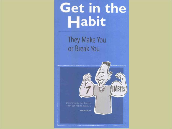 Introduction to the 7 habits