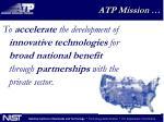 atp mission