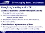 encouraging state involvement1