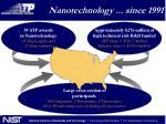 nanotechnology since 19911