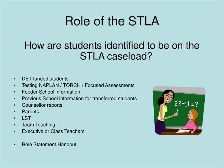 Role of the stla
