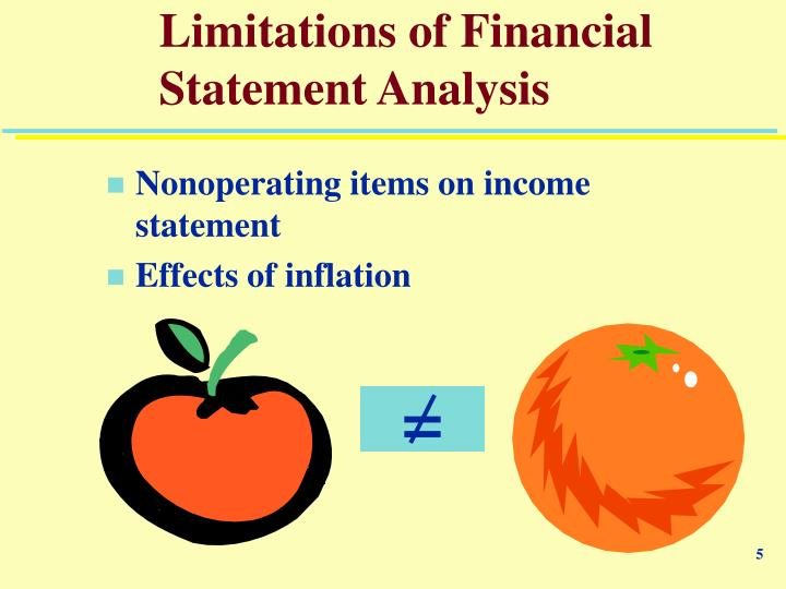 advantages and limitations of financial statements Learn how to distinguish between single-step income statements and multiple-step income statements, and learn the advantages and disadvantages of each  that financial statements published in.