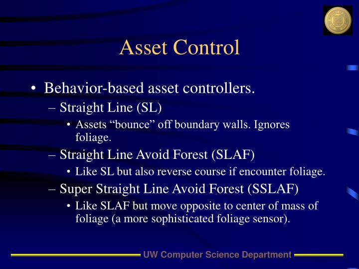 Asset Control