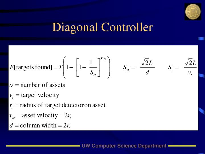 Diagonal Controller