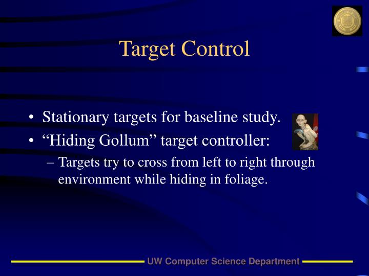 Target Control