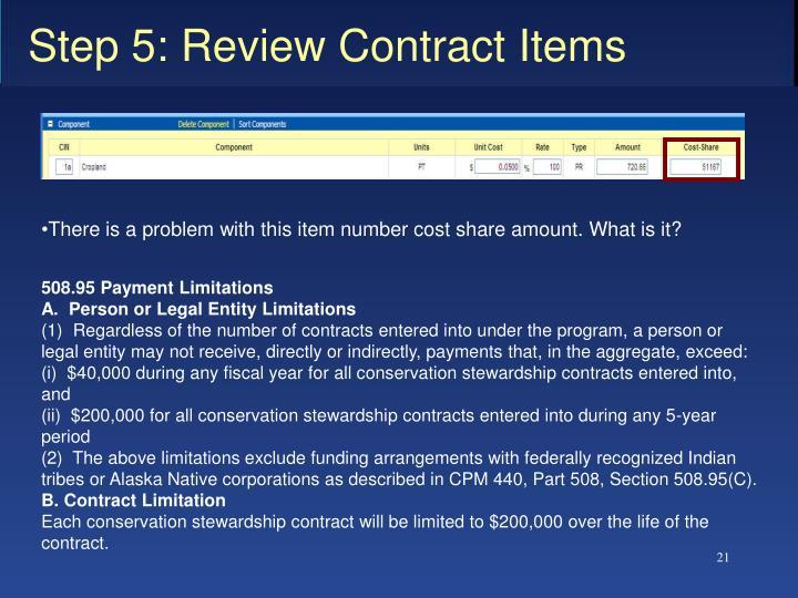 508.95Payment Limitations